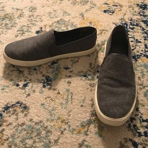 Vince Wool Slip On Casual Flats
